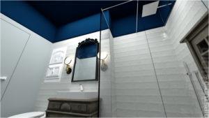 Apartament 1 - Wizualizacja 3D