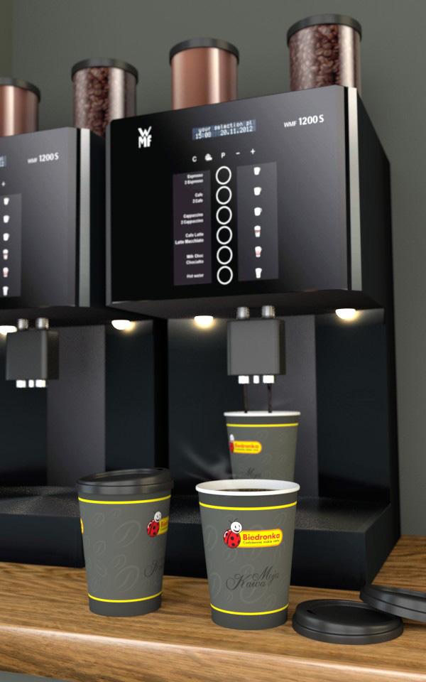 kubek do kawy - wizualizacja produktu